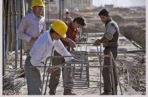 تعیین صلاحیت ۳۷۰ کارگر صنعت ساختمان