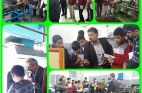 بازدید دانش آموزان از مرکز